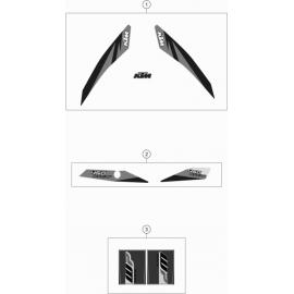 Décos, adhésif ( KTM 450 EXC-F 2018 )