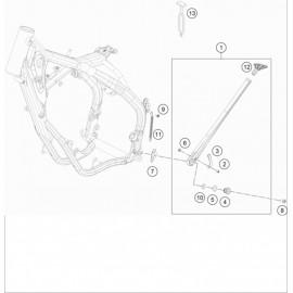 Béquille Latérale / Centrale ( KTM 250 EXC-TPI 2019 )