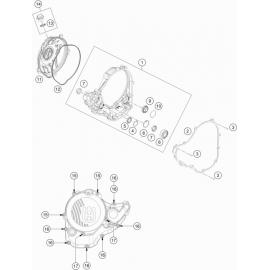 Carter d'embrayage ( Husqvarna FE 350 2021 )