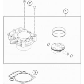 Cylindre ( Husqvarna FE 350 2021 )
