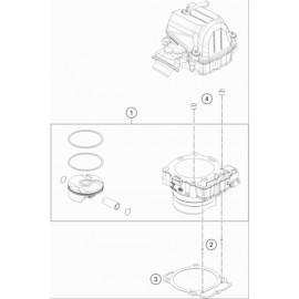 Cylindre ( Husqvarna FE 450 2021 )