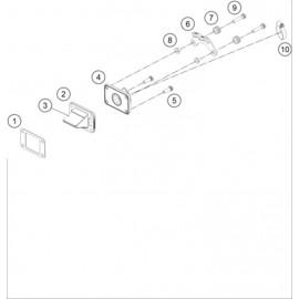 Boîte à clapets ( Husqvarna TC 50-MINI 2021 )