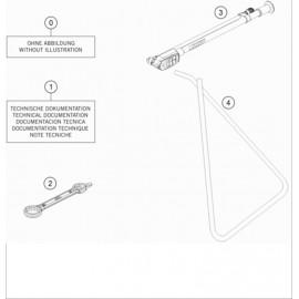 Kit accessoire ( Husqvarna TC 85 17/14 2021 )