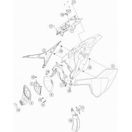 Filtre à air ( Husqvarna TC 85 19/16 2021 )