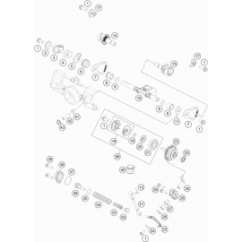 Valves d'échappement ( Husqvarna TC 85 19/16 2021 )