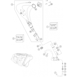 Pompe à essence ( Husqvarna FC 350 2021 )