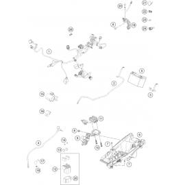 Cables, Faisceaux ( Husqvarna FC 450 2021 )