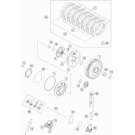 Embrayage ( KTM 250 EXC-F 2019 )