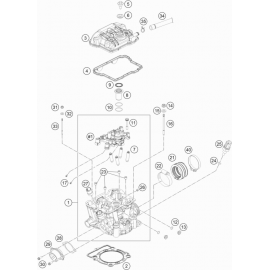 Culasse ( KTM 350 EXC-F 2019 )