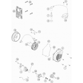 Allumage ( KTM 150 EXC-TPI 2020 )