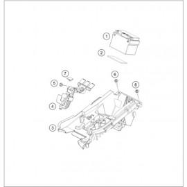 BATTERIE ( KTM 250 EXC-F 2020 )