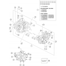 Carter moteur ( KTM 350 EXC-F 2020 )
