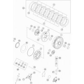 Embrayage ( KTM 350 EXC-F-Six-Days 2020 )