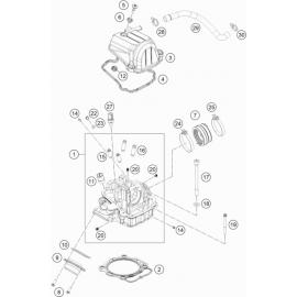 Culasse ( KTM 450 EXC-F-Six-Days 2020 )