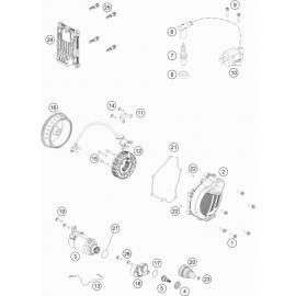 Allumage ( KTM 150 EXC-TPI 2021 )