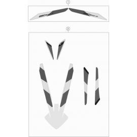 Décos, adhésif ( KTM 250 EXC-F-Six-Days 2021 )