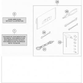 Kit accessoire ( KTM 250 EXC-F-Six-Days 2021 )