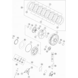 Embrayage ( KTM 350 EXC-F-Six-Days 2021 )