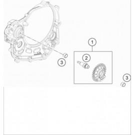 Arbre d'équilibrage ( KTM 450 EXC-F 2021 )