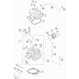 Culasse ( KTM 450 EXC-F-Six-Days 2021 )