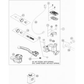 Cylindre de frein avant ( KTM 125 XC-W 2018 )