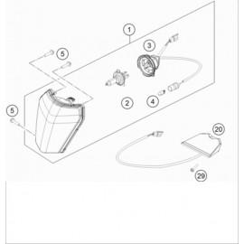 Eclairage ( KTM 125 XC-W 2018 )