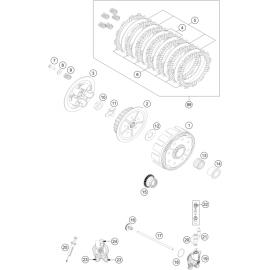 Embrayage ( KTM 125 SX 2018 )