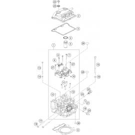 Culasse ( Husqvarna SVARTPILEN 401 2018 )