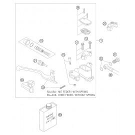 Cylindre de frein avant ( KTM 125 EXC 2005 )