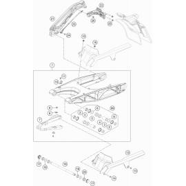 Bras oscillant ( Husqvarna VITPILEN 701 2018 )