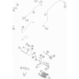 BATTERIE ( Husqvarna VITPILEN 701 2018 )
