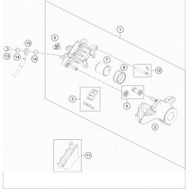 Etrier de frein arrière ( Husqvarna VITPILEN 701 2018 )
