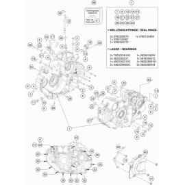 Carter moteur ( Husqvarna VITPILEN 701 2018 )