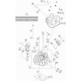 Culasse ( Husqvarna VITPILEN 701 2018 )