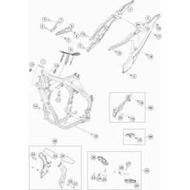Cadre ( Husqvarna TE 300 ROCKSTAR-EDITION 2021 )