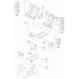Biellette ( Husqvarna TE 300 ROCKSTAR-EDITION 2021 )