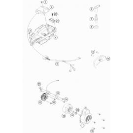 Allumage ( KTM 85 SX-19-16 2018 )