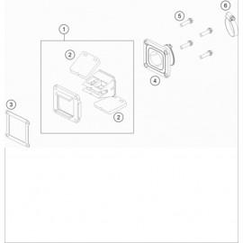 Boîte à clapets ( KTM 85 SX-17-14 2018 )