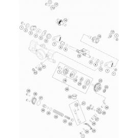 Valves d'échappement ( KTM 85 SX-17-14 2018 )