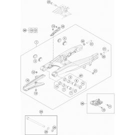 Bras oscillant ( KTM 65 SX 2018 )