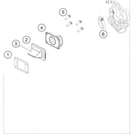 Boîte à clapets ( KTM 65 SX 2018 )