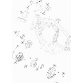 Allumage ( KTM 65 SX 2018 )
