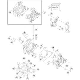 Carter moteur ( KTM 50 SX 2019 )