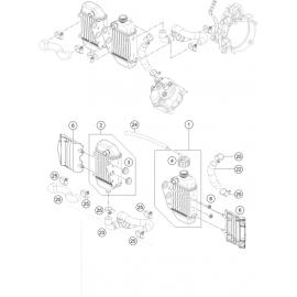 Refroidissement ( KTM 50 SX 2019 )