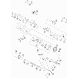 Valves d'échappement ( KTM 85 SX-17-14 2019 )