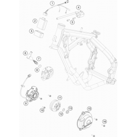 Allumage ( KTM 65 SX 2019 )