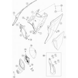 Filtre à air ( KTM 125 SX 2019 )