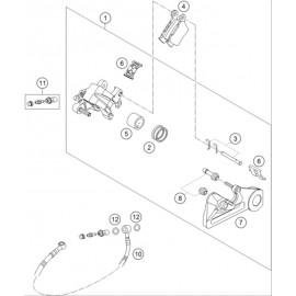 Etrier de frein arrière ( KTM 125 SX 2019 )
