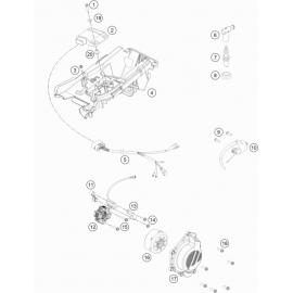 Allumage ( KTM 125 SX 2019 )