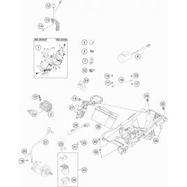 Cables, Faisceaux ( KTM 350 SX-F 2019 )